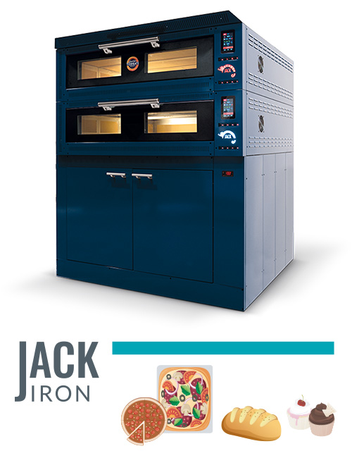 forni made in Italy Jack Iron