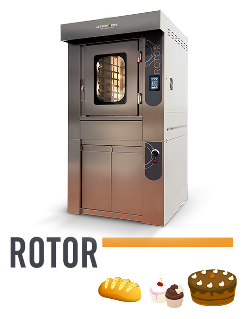 professional oven for bakery Rotor
