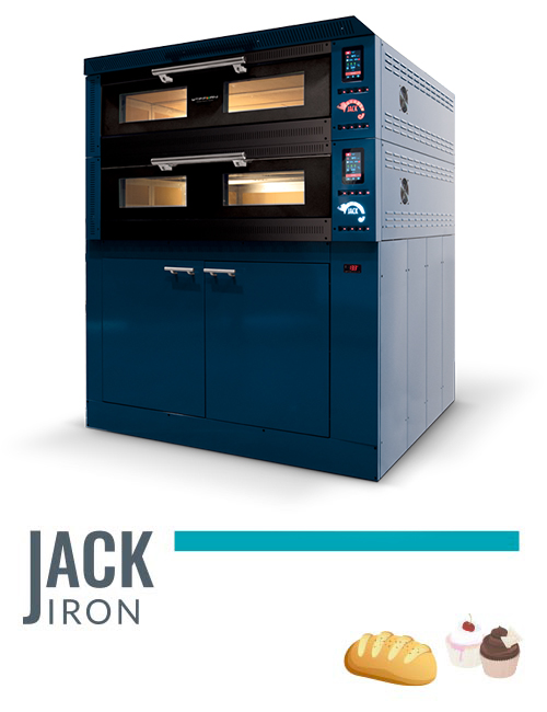 professional oven for pizzerias Jack Iron